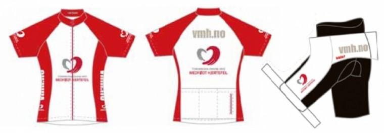 Nyhet: Sykkelklær i VMH-design!