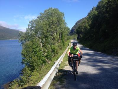 Sykler Norge på langs