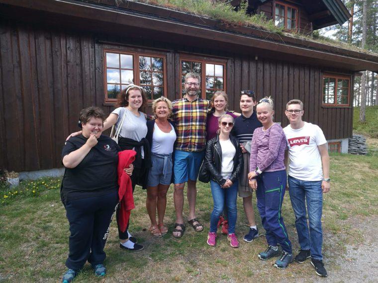 Ungdomstur til Finnskogstua