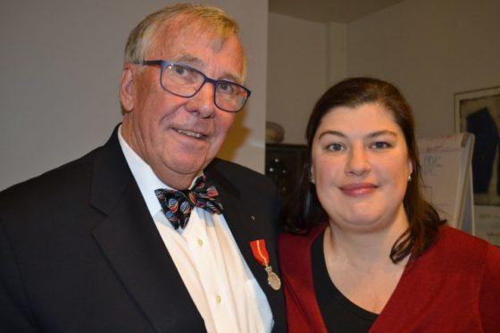 Harald Lindberg fikk Kongens fortjenestemedalje