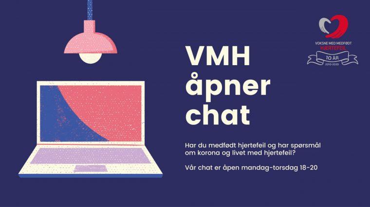 Nå åpner VMH-chatten!