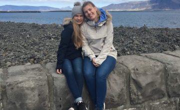 Lene og Emilie inntar Europa